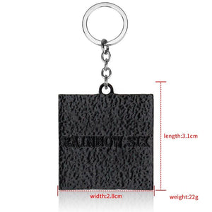 Rainbow Six: Siege 6 Logo Keychain - The Tura Store