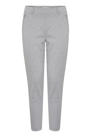 ICHI Kate Cropped Zip Pant