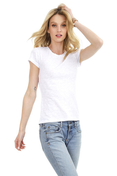 Bobi Short Sleeve Crew Neck T-Shirt - 2 Colours