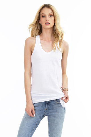 Bobi Simple Tank in White
