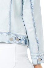 Load image into Gallery viewer, Liverpool Denim Jacket with Patch Pockets