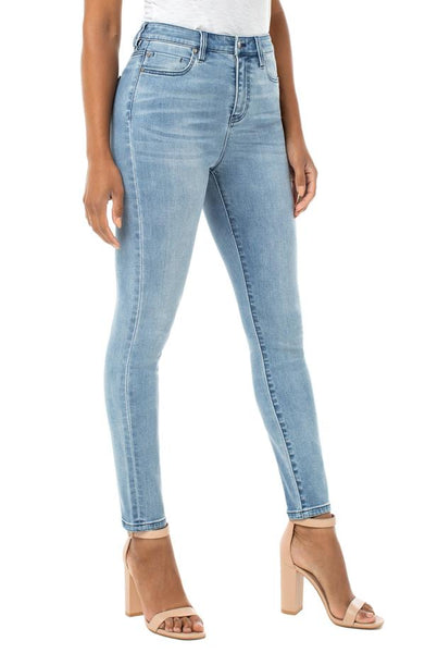 Liverpool Abby Hi-Rise Ankle Skinny Power Stretch Jean