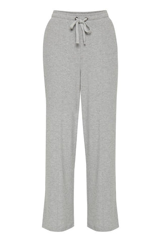 ICHI Grey Knit Pants
