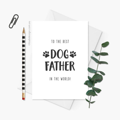 Best Dog / Cat Dad Card