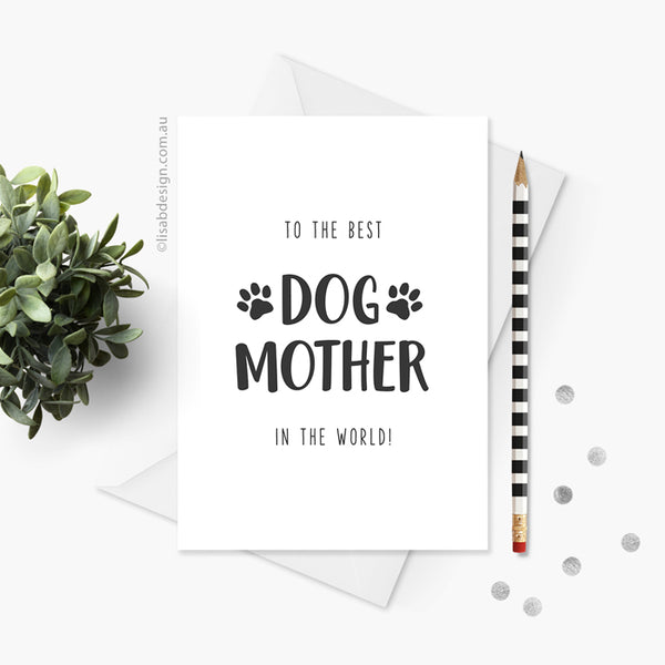 Best Cat / Dog Mum Card