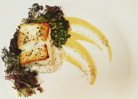 Roast Alaskan Halibut