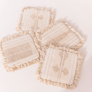 Beaches and Toes Coasters