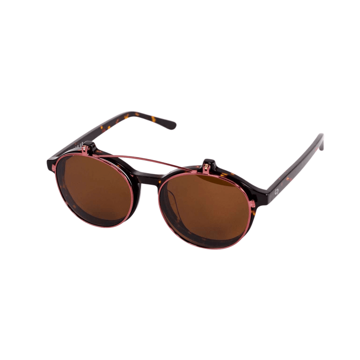 Rose and Tortoise WKNDR Sunglasses