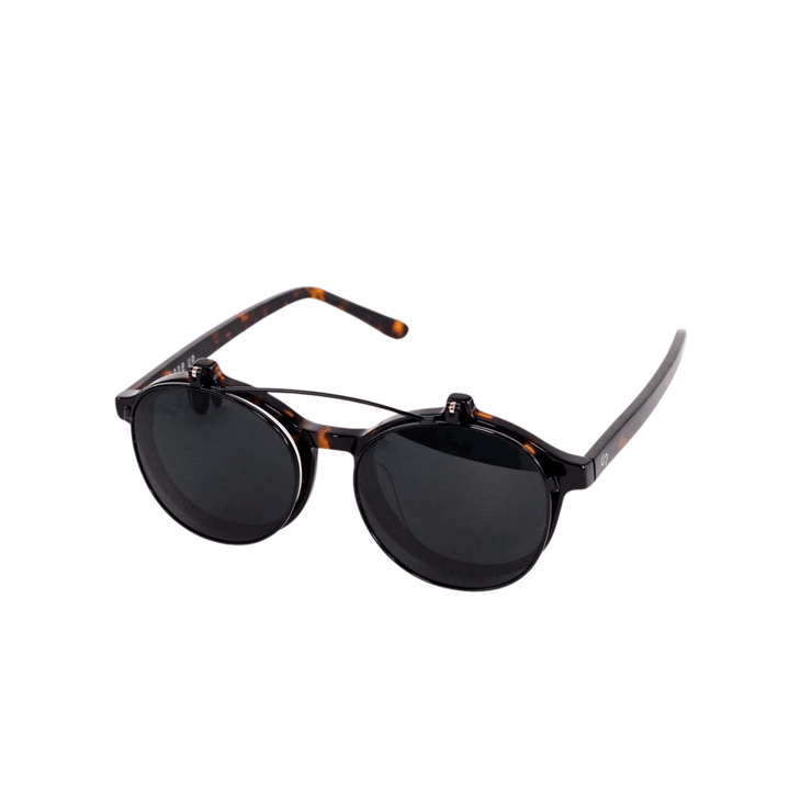 Black and Tortoise WKNDR Sunglasses