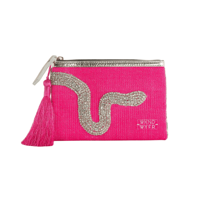 Hot Pink Ssssshiny Clutch