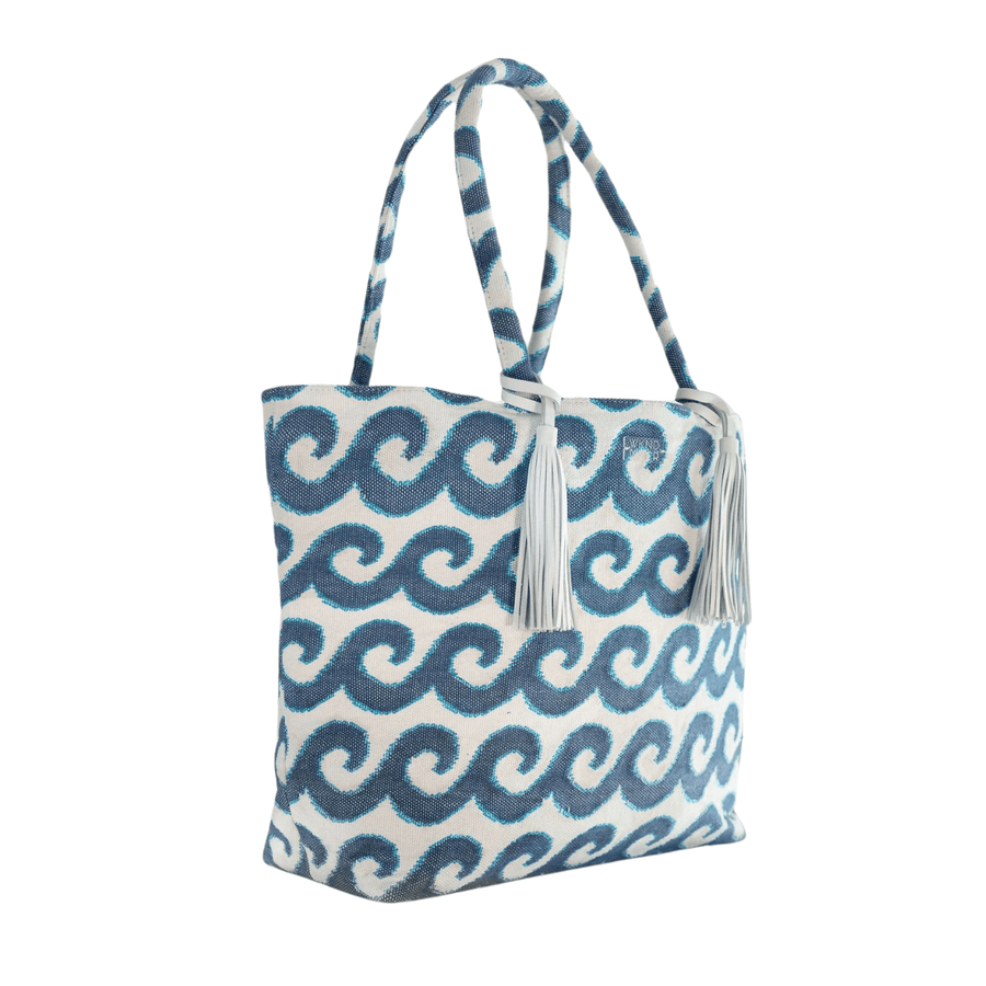 Wave on Wave Oversized Tote