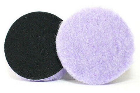 Lake Country Purple Foamed Wool Polishing Pad
