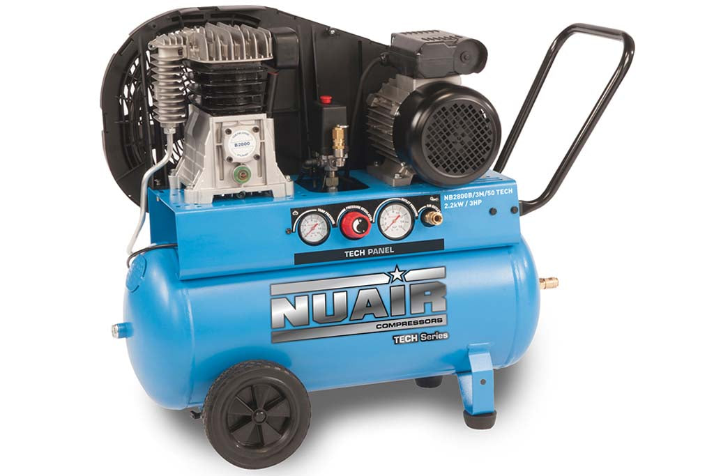 Nuair NB2800B/50/3M Tech Air Compressor