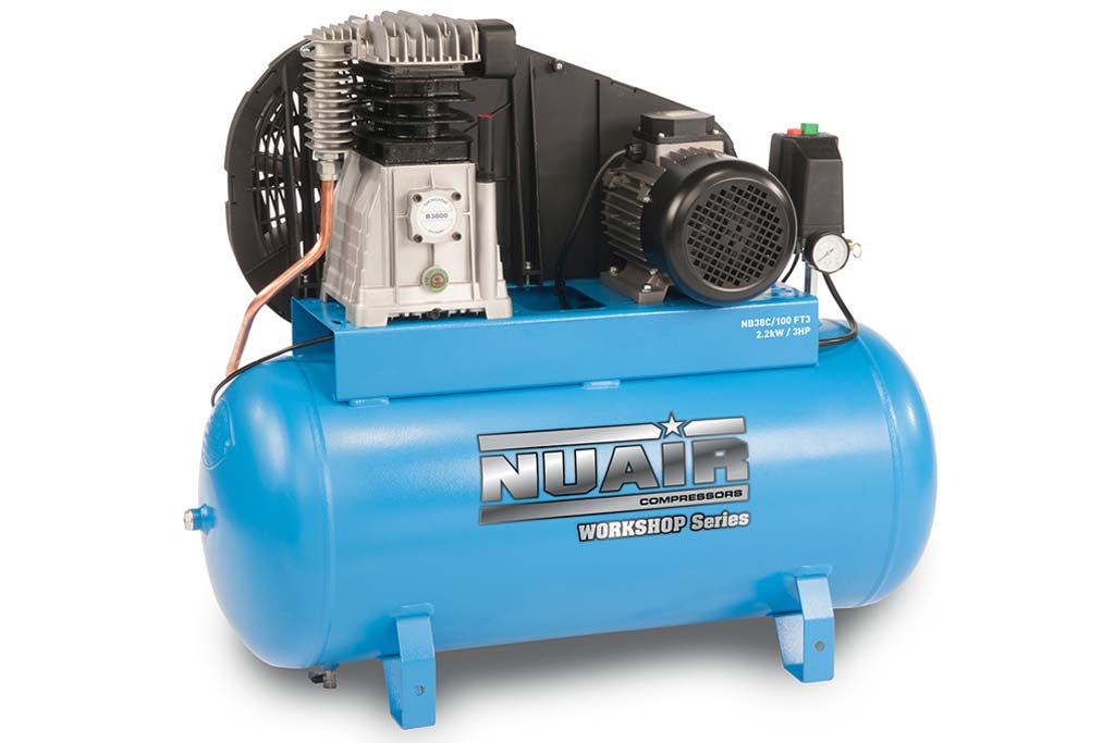 Nuair NB38C/100 FT3 Air Compressor