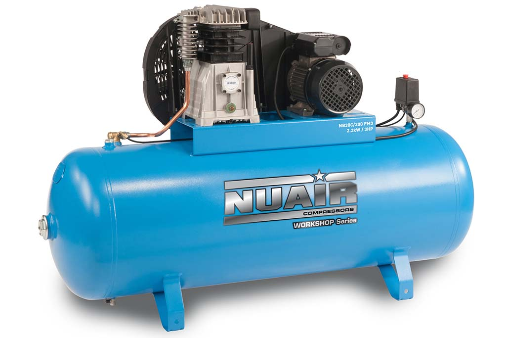 Nuair NB38C/200 FT3 Air Compressor