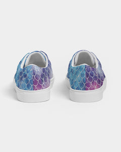 Luesque Mystical Mermaid Canvas Shoes Women's Lace Up Canvas Shoe