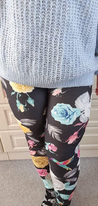 Luesque Blooming Wilderness Casualwear Leggings