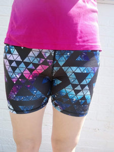 Luesque VERSION 2 Geometric Galaxy Shorts