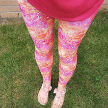 Load image into Gallery viewer, Luesque Mandala Sunset Casualwear Leggings
