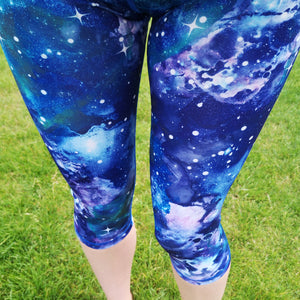 Luesque Out Of This World Capri Length Leggings