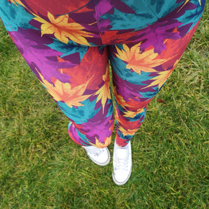 Luesque Autumn Leaves Casualwear Leggings