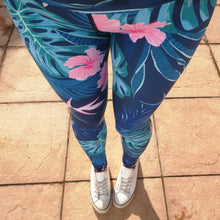 Load image into Gallery viewer, Luesque VERSION 3 Tropical Bliss Full Length Leggings