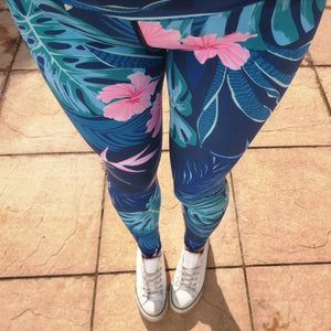 Luesque VERSION 3 Tropical Bliss Full Length Leggings