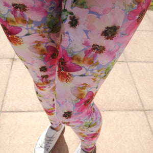 Luesque Spring Bloom Casualwear Leggings
