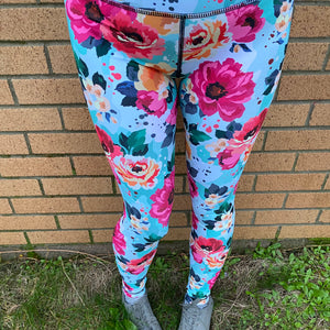 Luesque Summer's Dream Full Length Leggings