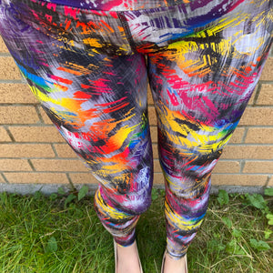 VERSION 3 Rainbow Roar Full Length Leggings