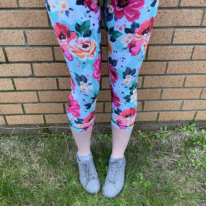 Luesque Summer's Dream Capri Length Leggings