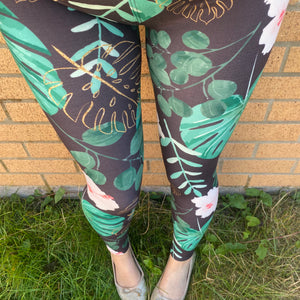 Luesque Monstera Casualwear Leggings