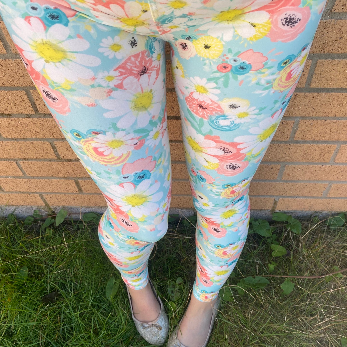 Luesque Daisy Garden Casualwear Leggings