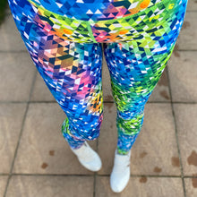 Load image into Gallery viewer, Luesque Kaleidoscope Full Length Leggings