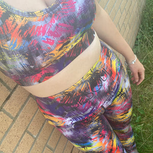 Luesque VERSION 3 Rainbow Roar Full Length Leggings