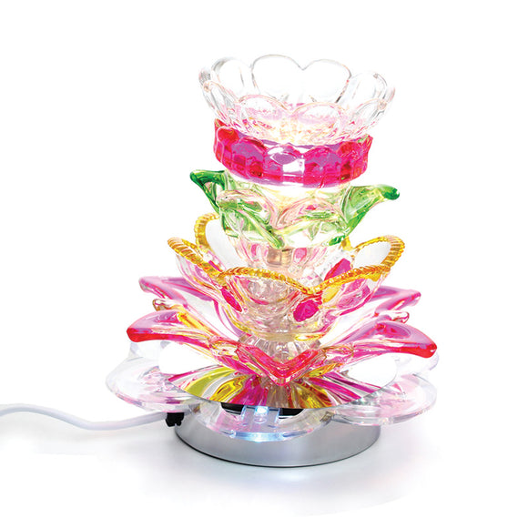 Electric Lily Oil Burner, Touch Lamp
