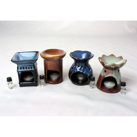 Porcelain Oil Burner (Not Electric)