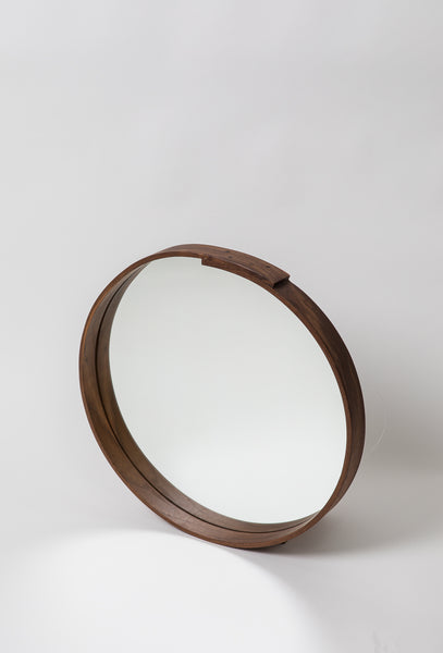 Steam Bent Wall Mirror