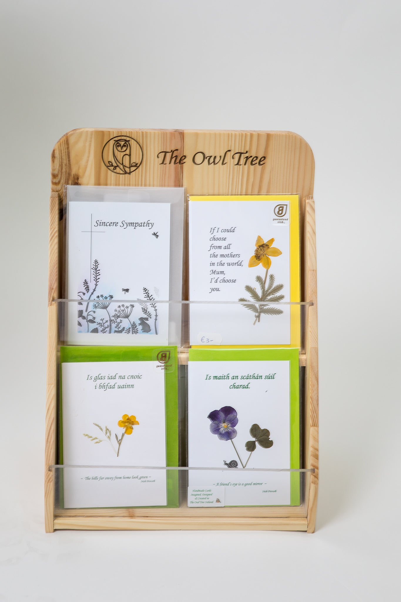 Customised Card Stand