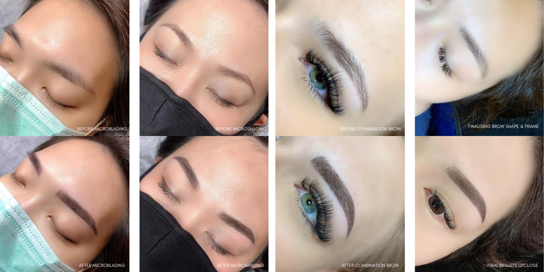 Different Types of Brow Embroidery Techniques
