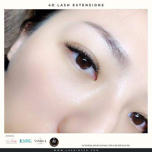 4D Volume Lash Extensions Singapore