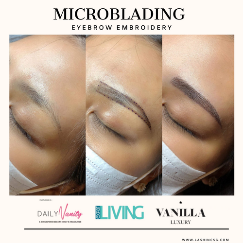 Microblading Brow Embroidery Singapore