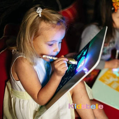 Luminous Drawing Board for Kids - PoacherOnline