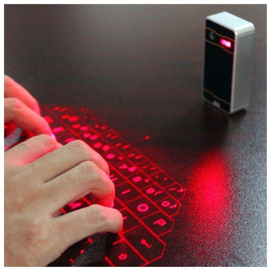 Bluetooth Wireless Laser Keyboard - PoacherOnline