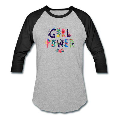 Girl Power Baseball Shirt-Unisex - PoacherOnline