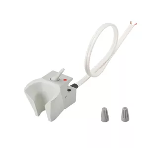 Holder, Electric Auto, Normally Open, Gray