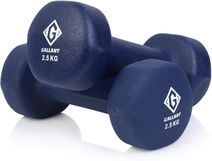 Dark blue 2.5kg hand weight