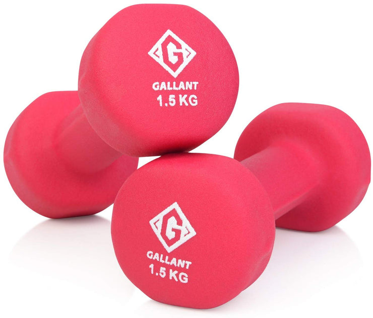 Pink 1.5kg hand weight