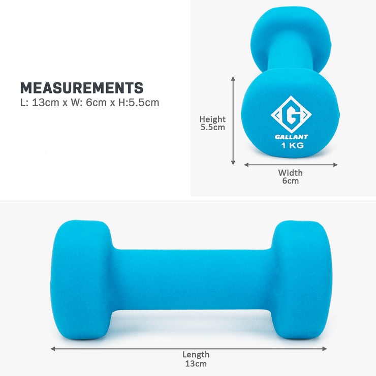 Light blue 1 kg hand weight measurement graphic