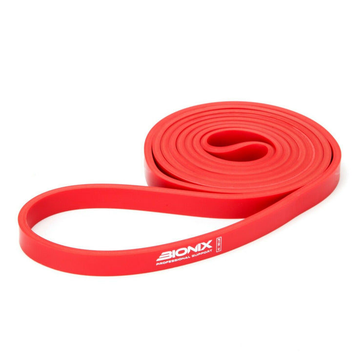 Red resistance band pull up